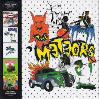THE METEORS - ORIGINAL ALBUMS COLLECTION: 5CD CLAMSHELL BOX SET