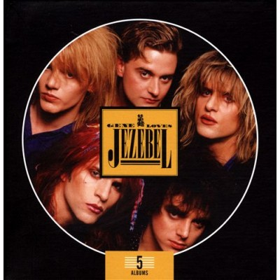 GENE LOVES JEZEBEL - 5 ALBUMS BOX SET [LIMITED] 5CD