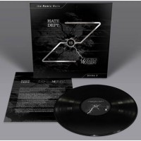 16 VOLT VS. HATE DEPT. - THE REMIX WARS: STRIKE 3 [BLACK] LP