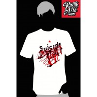 SUICIDE - WHITE TSHIRT