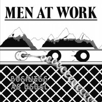 MEN AT WORK - BUSINESS AS USUAL LP