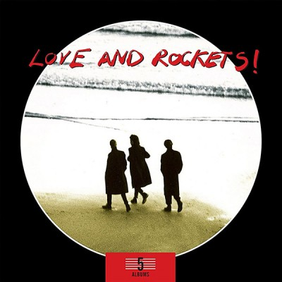LOVE AND ROCKETS - 5 ALBUMS BOX SET 5CD
