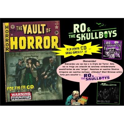 RO & THE SKULLBOYS - SKULL GIRLS MCD