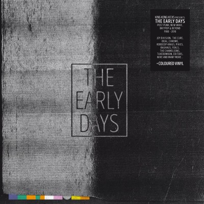 V/A - THE EARLY DAYS (POST PUNK, NEW WAVE, BRIT POP & BEYOND 1980 – 2010) [LIMITED COLOURED VINYL] 2LP+CD
