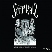 THE SURF RATS - STRANGE THINGS HAPPEN HERE AT MIDNIGHT [LIMITED GREEN] LP
