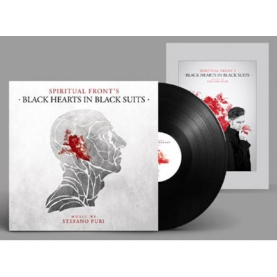 SPIRITUAL FRONT - BLACK HEARTS IN BLACK SUIT [LIMITED] LP