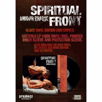 SPIRITUAL FRONT - AMOUR BRAQUE [LIMITED GOLD] LP