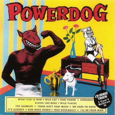 POWERDOG - POWERDOG CD