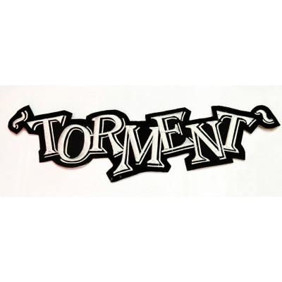 """TORMENT - ESPALDERA """"GREEN LOGO"""""""