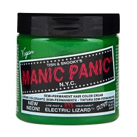SEMI PERMANENT HAIR DYE - NEON ELECTRIC LIZARD