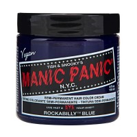 SEMI PERMANENT HAIR DYE - ROCKABILLY BLUE
