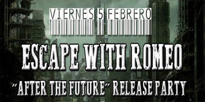 Escape with Romeo - After the Future release party + DJ set Thomas (Escape with Romeo) + Jorge Rara Avis, Viernes 5 de Febrero 2016, Stigmata Club Mad