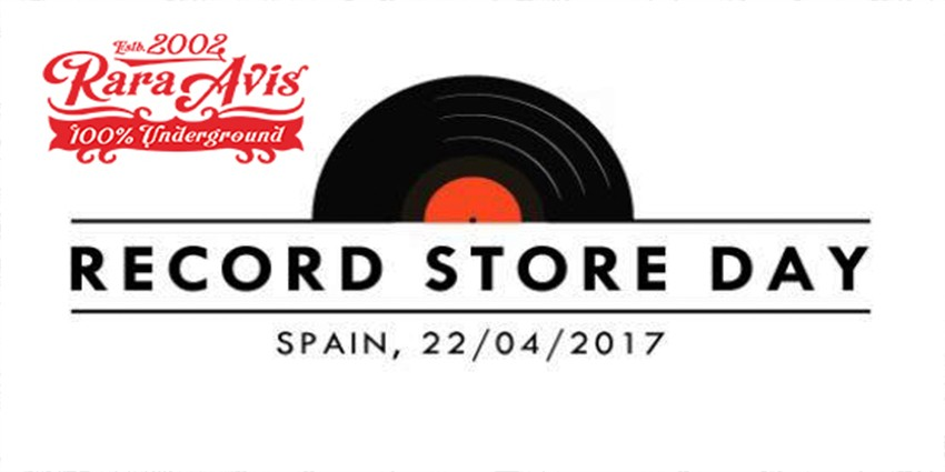 Record Store Day 2017 - Sábado 22 de Abril
