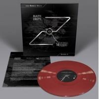 16 VOLT VS. HATE DEPT. - THE REMIX WARS: STRIKE 3 [RED] LP