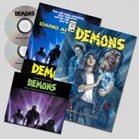CLAUDIO SIMONETTI – DEMONS [1] O.S.T. & O.S.T. REMIXED DIGI2CD + COMIC BOOK + POSTER rustblade