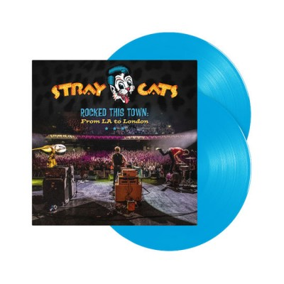 STRAY CATS - ROCKED THIS TOWN: FROM LA TO LONDON [LIMITED] 2LP