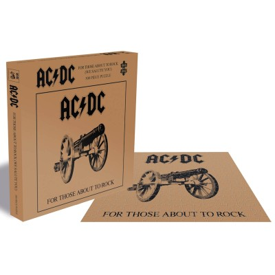 AC/DC - FOR THOSE ABOUT TO ROCK PUZZLE