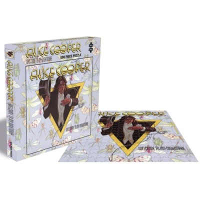ALICE COOPER - WELCOME TO MY NIGHTMARE PUZZLE