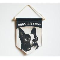 BANDERÍN - DOGS WELCOME