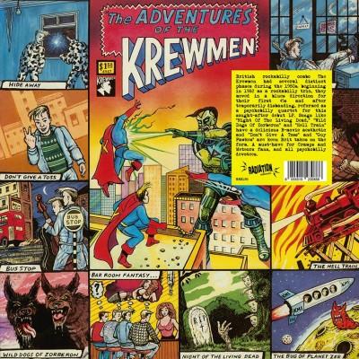 KREWMEN - THE ADVENTURES OF THE KREWMEN LP radiation records
