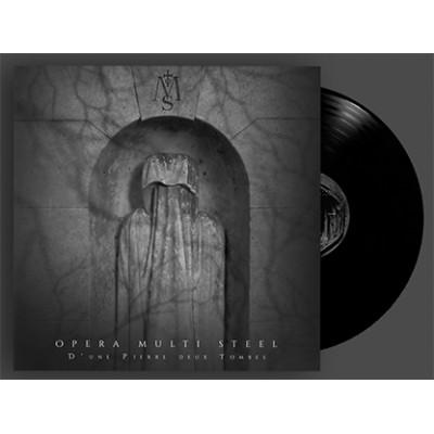 OPERA MULTI STEEL - D'UNE PIERRE DEUX TOMBRES [LIMITED BLACK] LP wave records