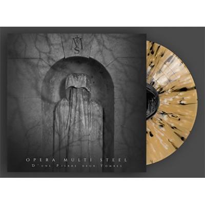 OPERA MULTI STEEL - D'UNE PIERRE DEUX TOMBRES [LIMITED YELLOW BLACK WHITE SPLATTER] LP wave records