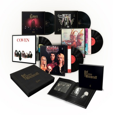 COVEN - HALF A CENTURY OF WITCHCRAFT [LIMITED] 5LP BOX prophecy