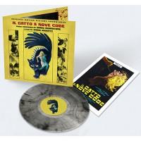 ENNIO MORRICONE – IL GATTO A NOVE CODE [LIMITED TRANSPARENT BLACK SMOKE] LP + POSTER