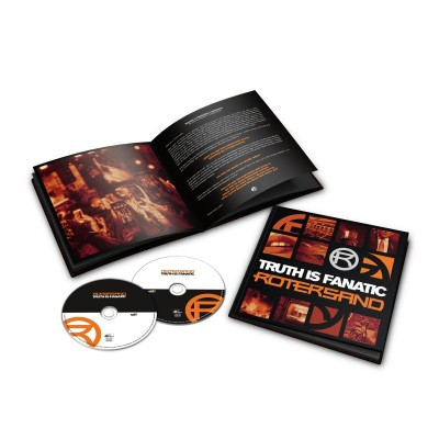 ROTERSAND - TRUTH IS FANATIC [DELUXE] 2CDARTBOOK dependent