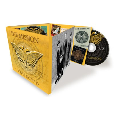 THE MISSION - COLLECTED 3DIGICD music on CD