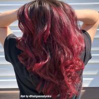 RED VELVET - PROFESSIONAL GEL SEMI-PERMANENT HAIR COLOR
